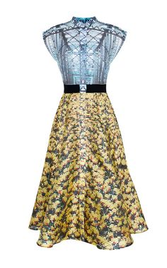Cupolla Bridges Drive Dress by Mary Katrantzou for Preorder on Moda Operandi