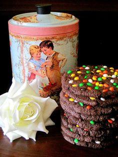 Galletas Con Semillas De Girasol Cubiertas De Chocolate