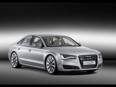 Audi A8..so I can feel like james bond while grocery shopping with the kids..ha..maybe one day.