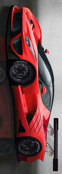 Ferrari LaFerrari GT1 by Levon