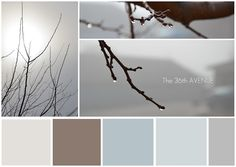 Interesting color palette from The 36th Avenue blog.