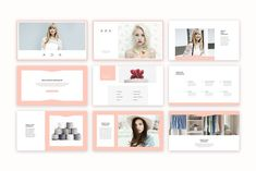 Ada PowerPoint Presentation by SlideStation on @creativemarket #powerpoint #presentation #templates #inspiration #fashion #feminine #slideshow #pitch