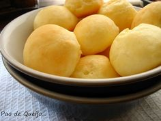 Brazilian Pao de Queijo...I just love these and they are glutten free! ~ Jess