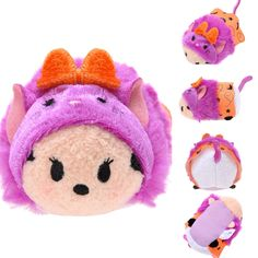 2015 Halloween cat Minnie tsum tsum (mini)