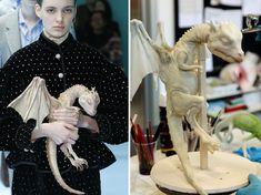 Modelado 3D de dragon. Gucci 2018