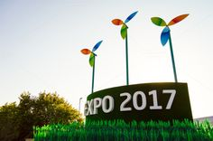 Check out Expo 2017 by Slongrad on Creative Market