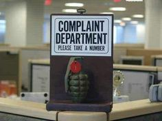 Complaint Department Please Take a Number hand Grenade meme lol funny pictures humor humour Airsoft, Funny Photos, Funny Images, Oops Photos, Hilarious Pictures, Funny Signs, Funny Jokes, It's Funny, Funny Troll