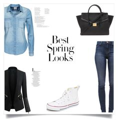 """""""Untitled #209"""" by nihada106 ❤ liked on Polyvore featuring Vero Moda, Converse, J Brand, Forever 21, Chicsense, H&M, women's clothing, women's fashion, women and female"""