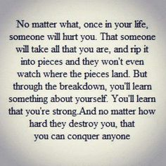 #hurt #love #strength