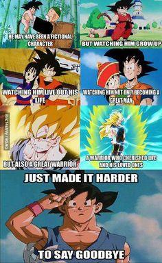 We love you Goku