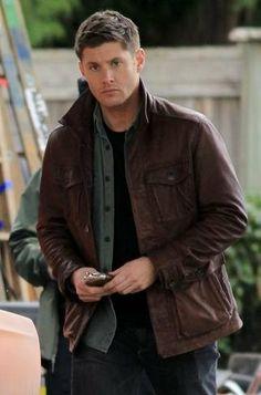 Supernatural+season+7+leather+jacket++real+by+customdesignmaster,+$179.99