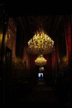 Dream House Home Manor Mansion Decor Rooms Room Goth Gothic Hallway