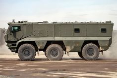 KAMAZ-63968 Typhoon-K MRAP vehicle armored truck April 9th rehearsal in Alabino…