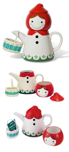 Red Riding Hood // tea for one set