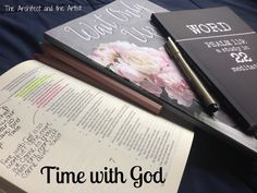 Time with God {Over a Lifetime}-Resources and ideas for spending time with God