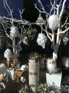 Winter window at Hoopla! Emporium