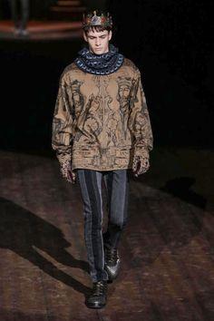 Dolce and Gabbana Menswear Fall Winter 2014 Milan