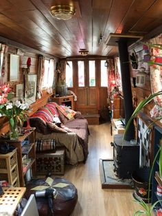 A caravan is believed to be a long-term investment. Instead of paying for a costly re-spray, it may be that the caravan could use an expert wash and polish to get rid of black streaks and return it to its… Continue Reading → Tiny Living, Living Spaces, Living On A Boat, Living Room, Canal Boat Interior, Interior Exterior, Interior Design, Narrowboat Interiors, House Boat Interiors