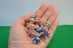 amigurumi crochet doll: Miniature gang!!!!