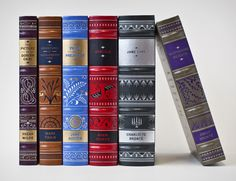 Leather Bound Classics Collection designed by Jessica Hische for Barnes and Noble.