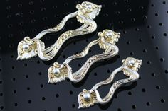 2 5 Quot 3 75 Quot 5 Quot Crystal Glass Look Dresser Pull Drawer Pulls
