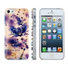 Amazon.com: Joyroom Jeweled Violet Protective Case for iPhone 5: Electronics
