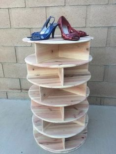 Home Discover Spinning Shoe Rack/Carousel by Williswoodcraft on Etsy Shoe Storage Design Rack Design Shoe Organizer Closet Organization Organization Ideas Diy Pallet Projects Woodworking Projects Woodworking Workshop Woodworking Plans Shoe Rack Closet, Diy Shoe Rack, Homemade Shoe Rack, Shoe Racks, Shoe Storage Design, Rack Design, Diy Pallet Projects, Wood Projects, Woodworking Projects