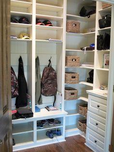 Kid's Desk and Closet