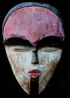 Fine Tribal Vuvi Mask Gabon photo
