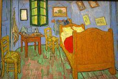 "VINCENT VAN GOGH: ""La chambre de Van Gogh à Arles (La habitación del artista en Arles)"", 1889"