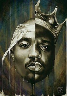Notorious B.G Biggie Smalls and Tupac Shakur. It can be preserve in a long period for many years. Pics are printed professionally on BEST quality silk fabric cloth. rapper Notorious B.G Biggie Smalls Tupac Shakur Hip Hop Art Poster Tupac Shakur, 2pac, Biggie Smalls, Tupac Wallpaper, Rap Wallpaper, Iphone Wallpaper, Arte Dope, Dope Art, Tupac Poster