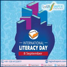 International Literacy Day will always remind us of our dream to have a literate population, to have an educated population. Complete literacy is a dream for our country and we can achieve it with our constant hard work…. Wishing a very Happy International Literacy Day. Mobile Application Development, Design Development, Software Development, International Literacy Day, Cross Functional Team, Effective Marketing Strategies, Professional Web Design, Business Management, Hard Work