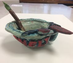 Final Piece for the Y9 Coil Pot Project. St Marys Catholic High School.