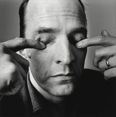 Ingmar Bergman by Irving Penn.