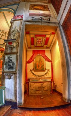 Cataldo Mission Sacristy, Idaho