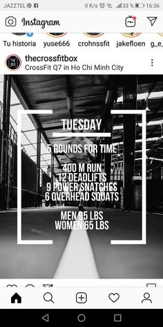 Crossfit Open Workouts, Crossfit At Home, Wod Workout, Lifting Workouts, Treadmill Workouts, Workout Days, Hiit, At Home Workouts, Crossfit Posters
