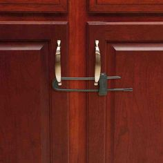 Locking Cabinet Latch Safety Latches Home Child Double Doors