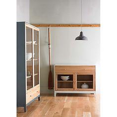Buy ercol for John Lewis pilgrim Dining Room Furniture, Steel Grey online at JohnLewis.com - John Lewis