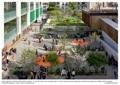 ATELIERS 2/3/4/ — Aménagement des terrains Maître Jacques, groupe scolaire, gymnase et jardin public