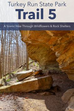 Park Trails, Hiking Trails, Turkey Run State Park, Severe Storms, Trail Guide, Small Ponds, Boat Tours, Great Lakes, The Rock