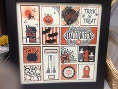 SU Framed Sampler Ideas My Stampin'Up! Halloween Paper Crafts, 3d Paper Crafts, Halloween Cards, Halloween Fun, Holiday Crafts, Paper Crafting, Scrapbooking, Scrapbook Cards, Collage Frames