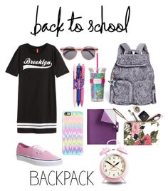 """Back to school outfit ."" by fashion-av ❤ liked on Polyvore"