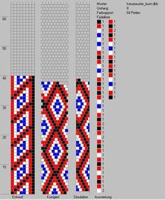 8 around tubular bead crochet rope pattern Bead Crochet Patterns, Bead Crochet Rope, Seed Bead Patterns, Crochet Diagram, Crochet Bracelet, Jewelry Patterns, Beading Patterns, Crochet Stitches, Beaded Crochet