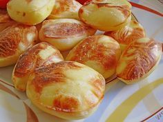 Balloon - Potatoes, a good recipe from the category Potatoes. Home Food, Iftar, Pumpkin Recipes, Food Design, Superfood, Finger Foods, Food Inspiration, Food Porn, Food And Drink