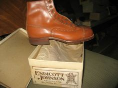 Endicott Johnson from The vintage Family Shoe Store
