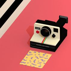 Finished! #c4d #polaroid #3d by froilantam