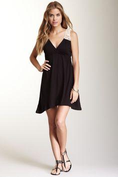 Raviya Lace Yoke Dress by Fresh & Flirty: Easy Summer Dresses on @HauteLook