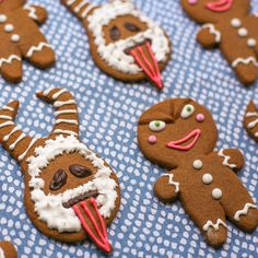 Recipe: Krampus Gingerbread Cookies — Sugared Nerd