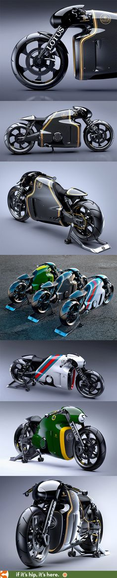 The Limited Edition Kodewa Performance Motorcycle, The Lotus C-01 is road ready. Details at the link.