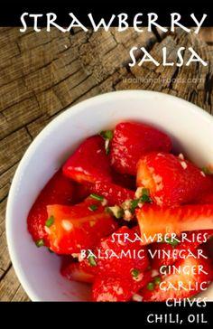 Strawberry Salsa @ Traditional-Foods.com